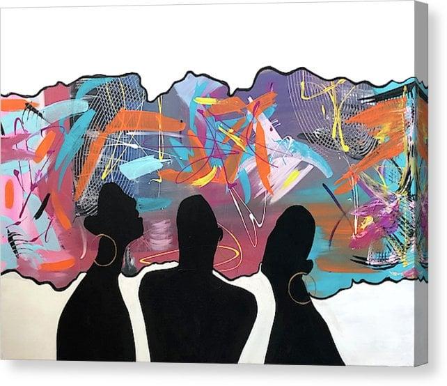 "Image of ""Tribe"" Original Painting"