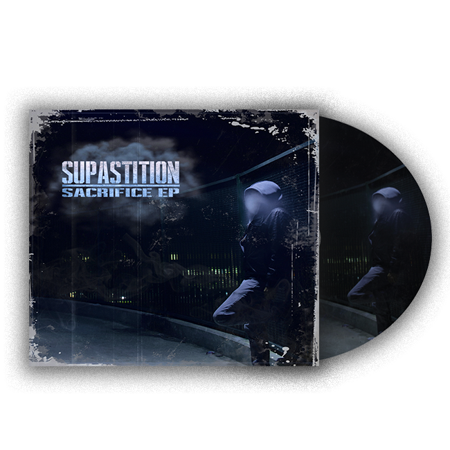 Image of SUPASTITION 'SACRIFICE' CD (LIMITED EDITION)
