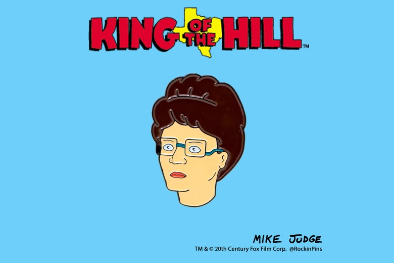 Image of King of the Hill - Peggy Hill Head Enamel Pin