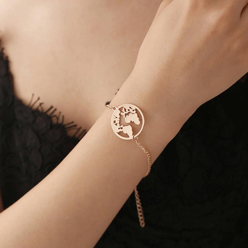 """Image of Bracelet """"le monde"""""""