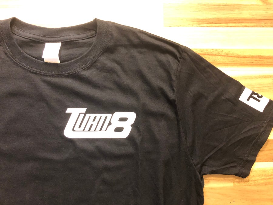 Image of Turn 8 Custom Track Shirt