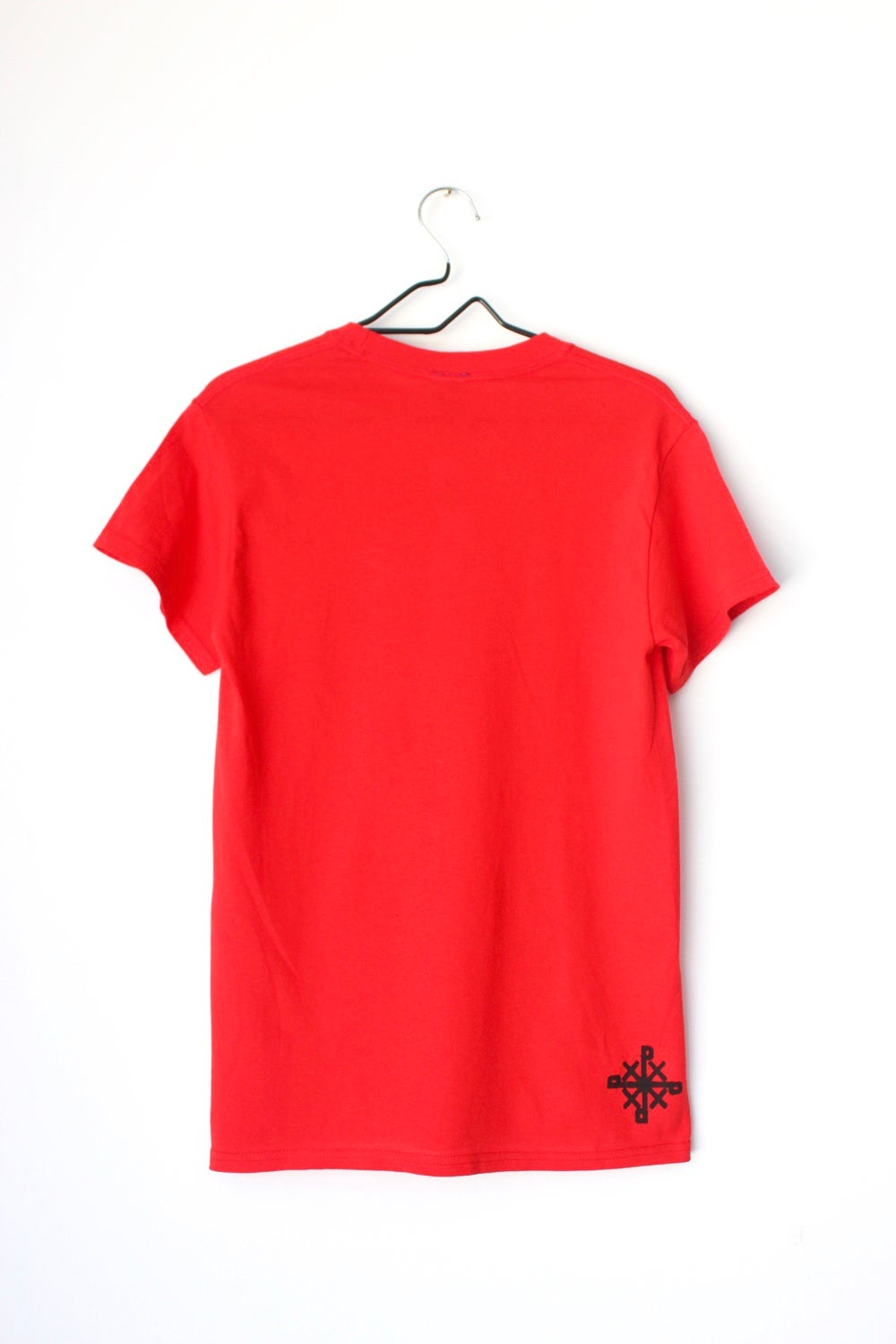 Protect Us tee in red