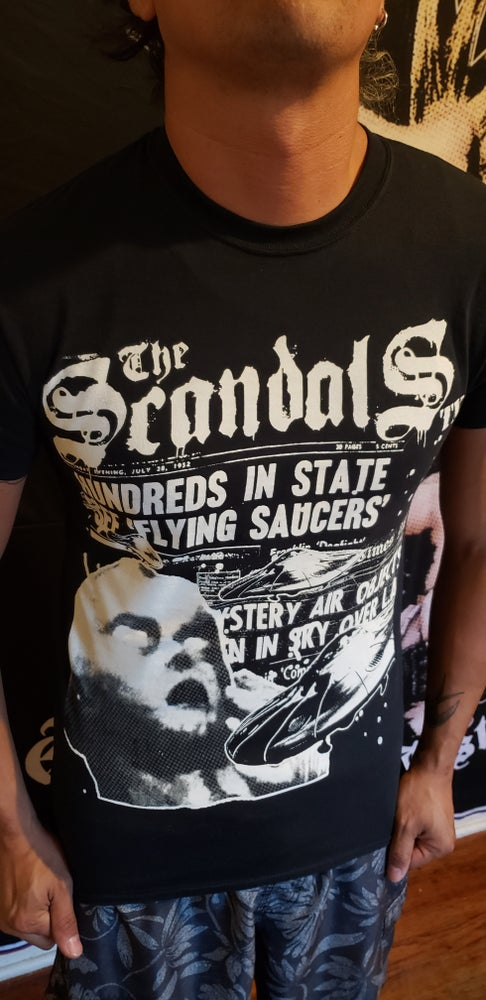Image of The Scandals TX - Area 51 Shirt