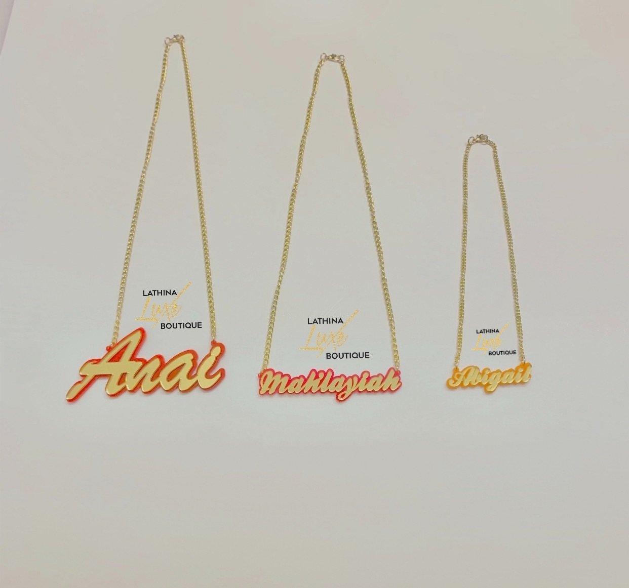 Image of Custom Acrylic Pendants