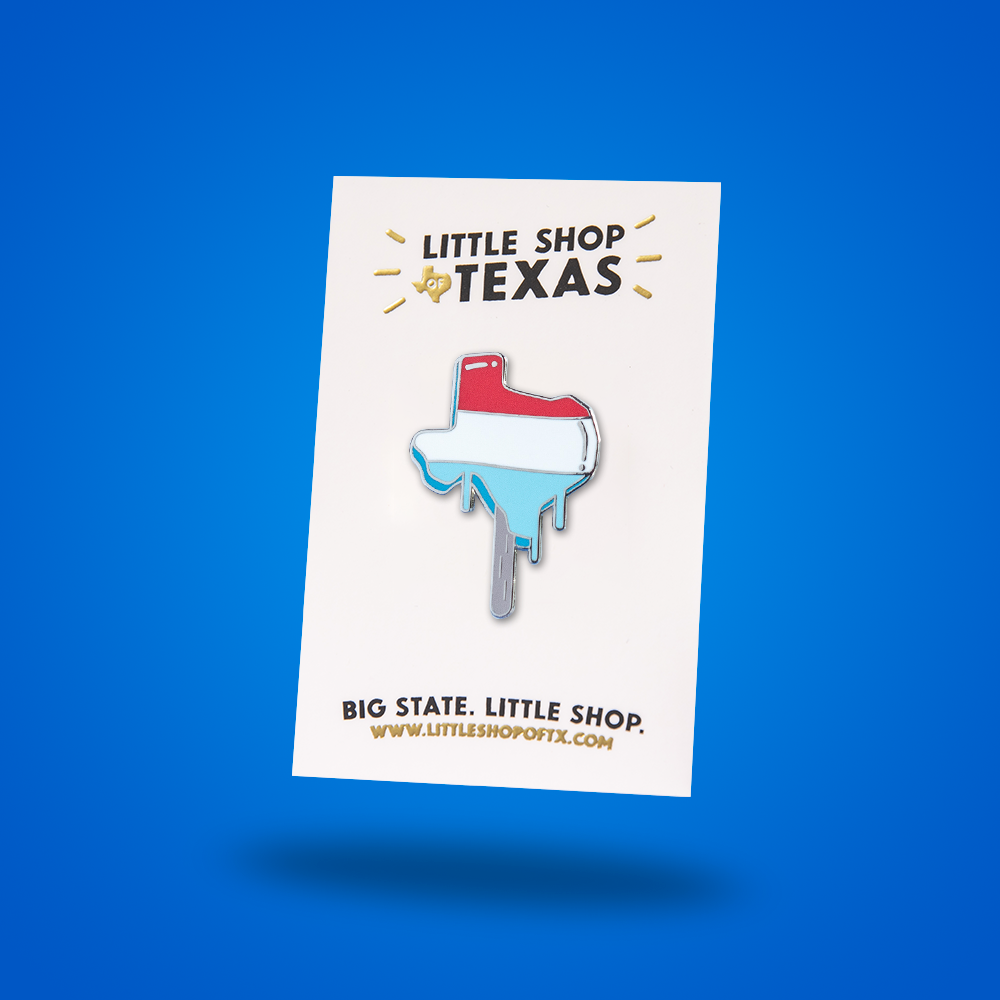 Image of Texas Popsicle Enamel Pin