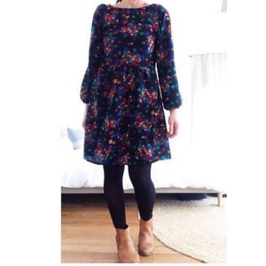Custom Long Sleeved Julia Dress- choose your fabric