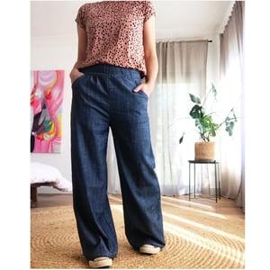 Custom Wide Leg Pants - choose your fabric