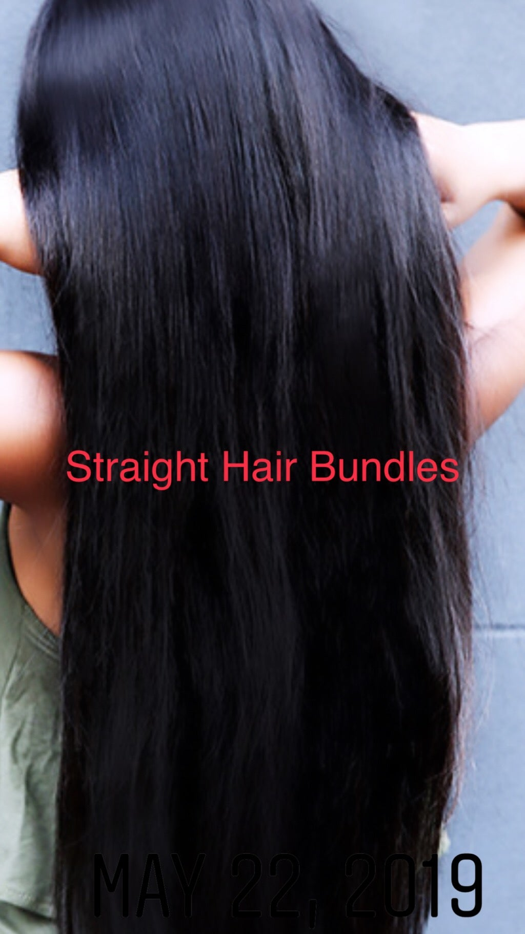 """Image of 22"""" Remy Straight Hair single bundle"""