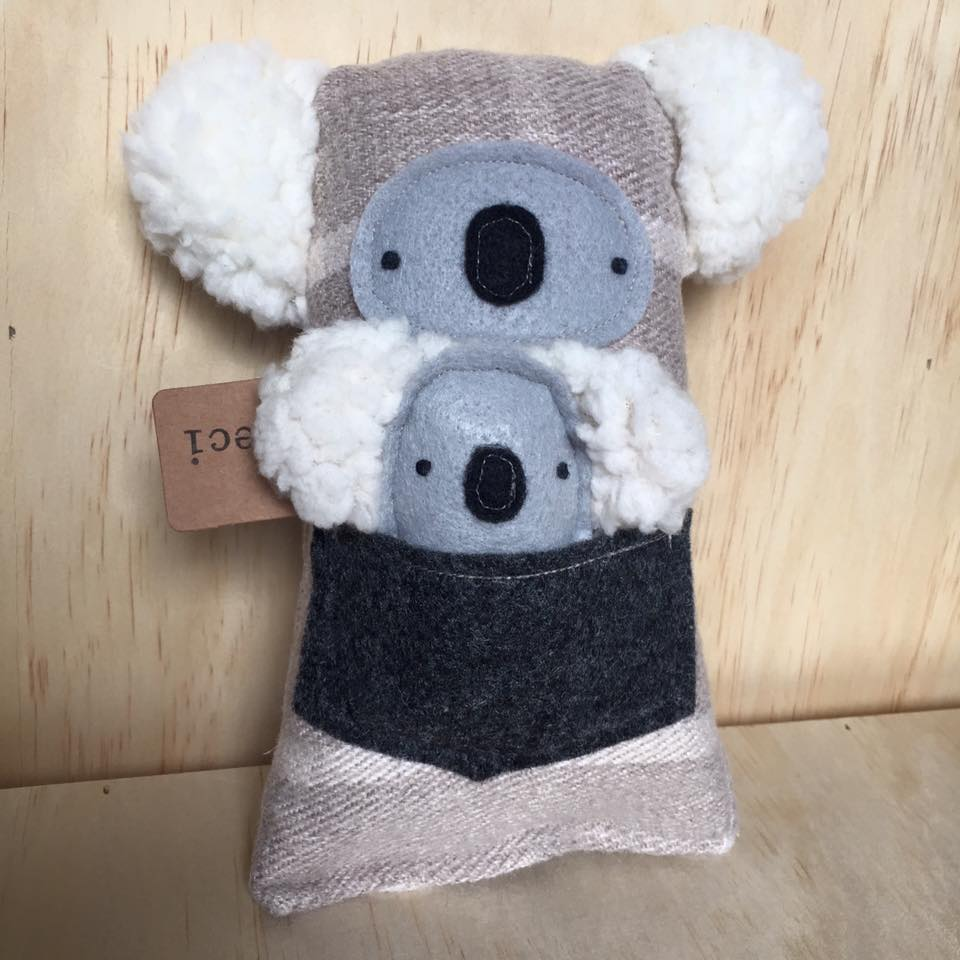 Image of Mama & Babe Koala