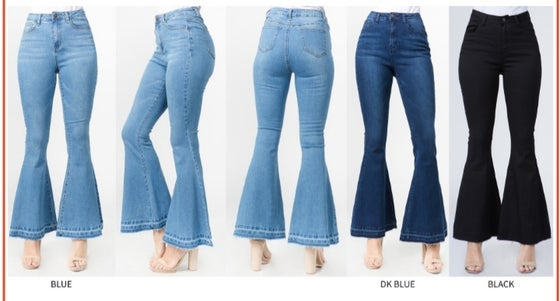Image of Boho bell jeans