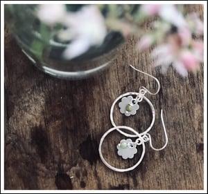 Image of Hoop & Flower Chandeliers