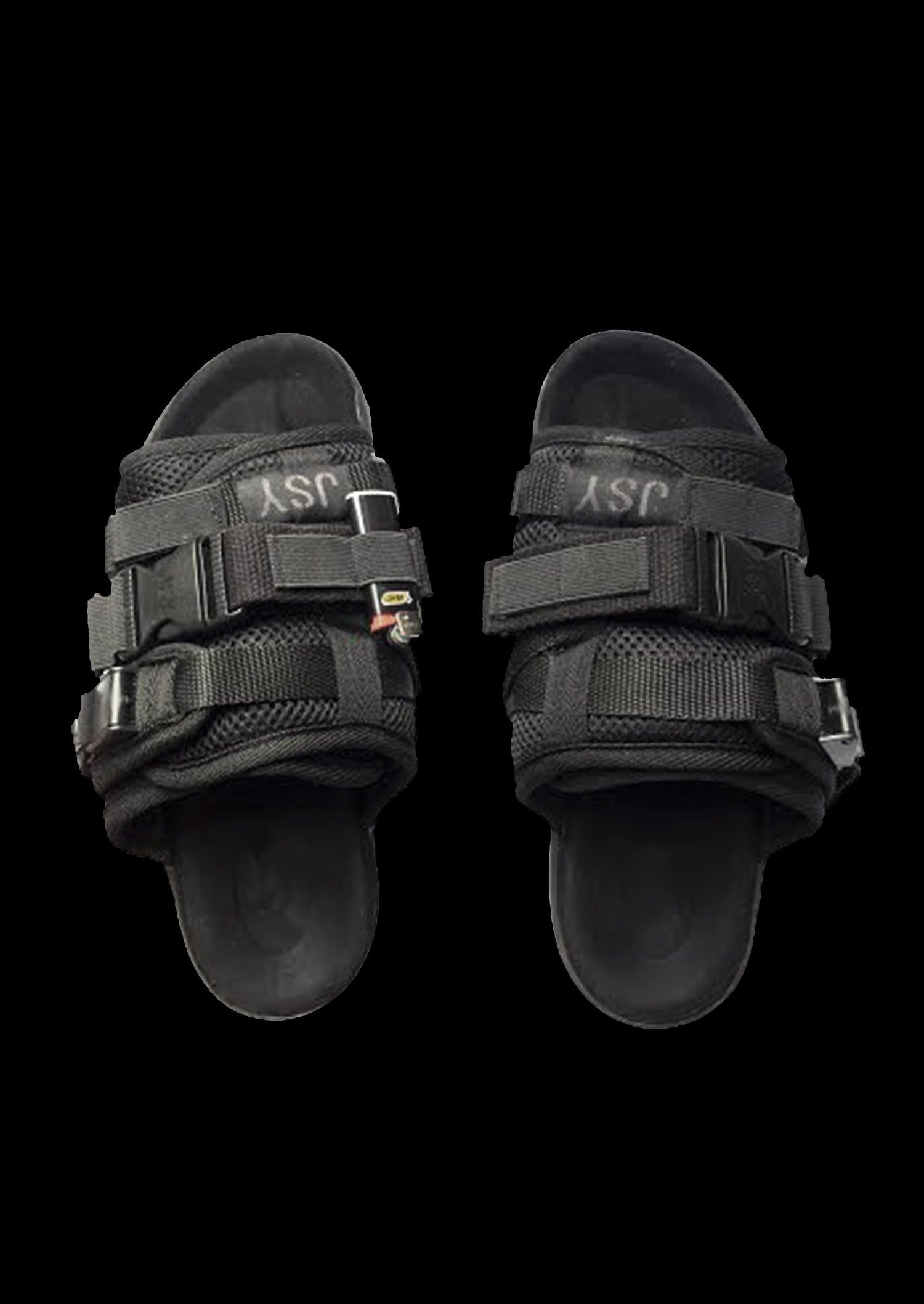 Image of BLACK CARGO SANDAL