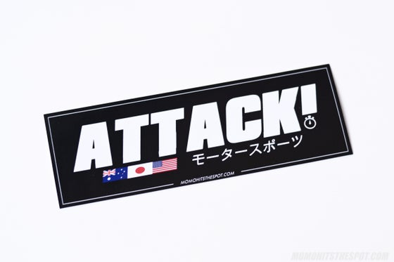 Image of ATTACK! Motorsports Box Decal
