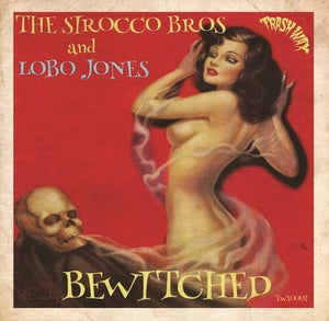 """Image of In Stock. 10"""". The Sirocco Bros & Lobo Jones : Bewitched.     Ltd Edition, 2 track 10""""."""