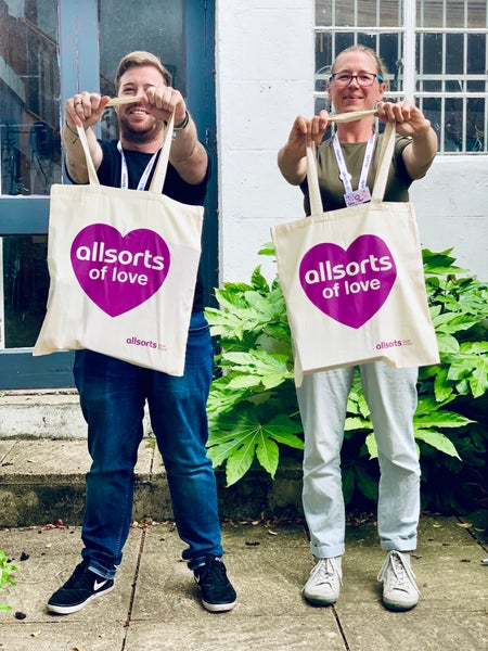 Image of Allsorts of Love Tote Bag