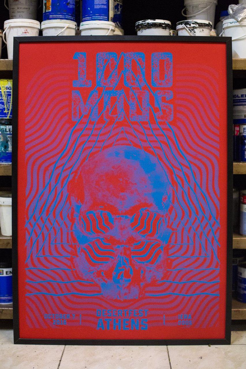 Image of 1000mods poster - DesertFest Athens 2016