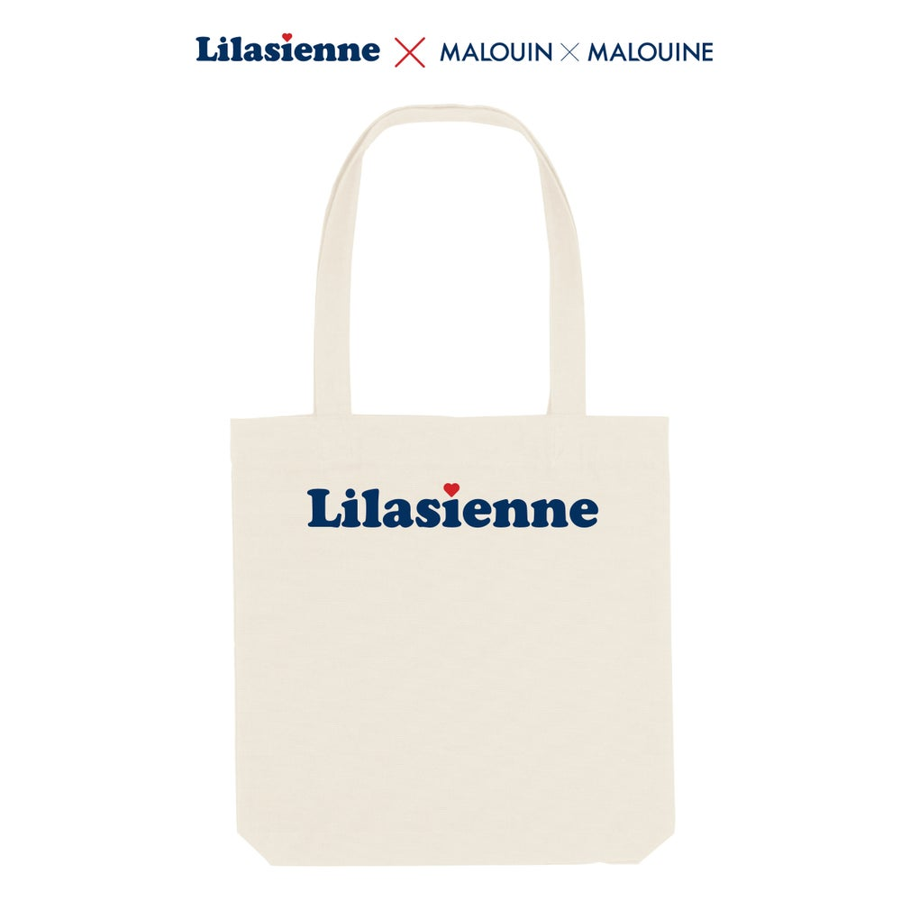 Image of Tote Bag Lilasienne