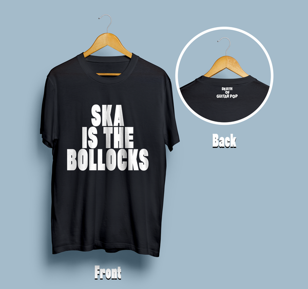 Image of Ska Is The Bollocks T-Shirt (UNISEX)