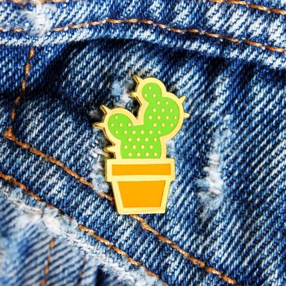 Image of Cactus Enamel Pin