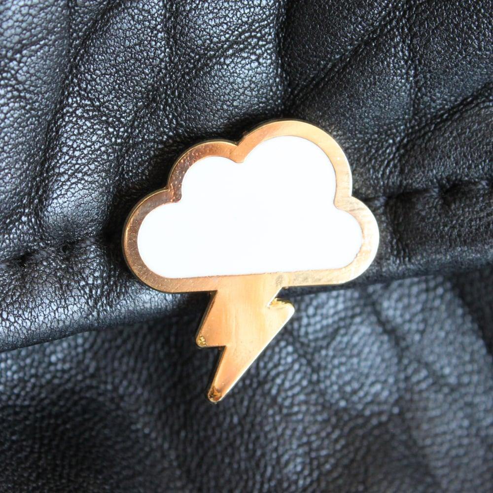 Image of Rain Cloud Enamel Pin