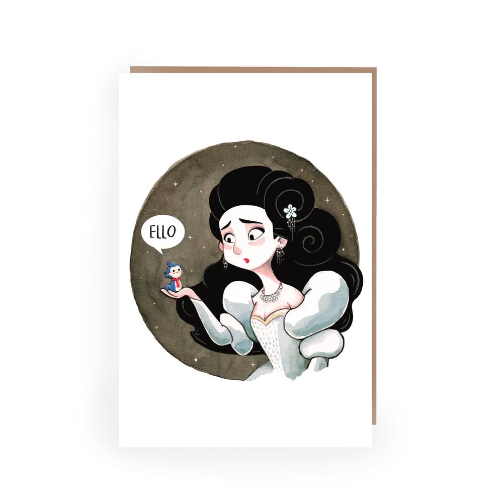 Image of ELLO Labyrinth GREETINGS CARD