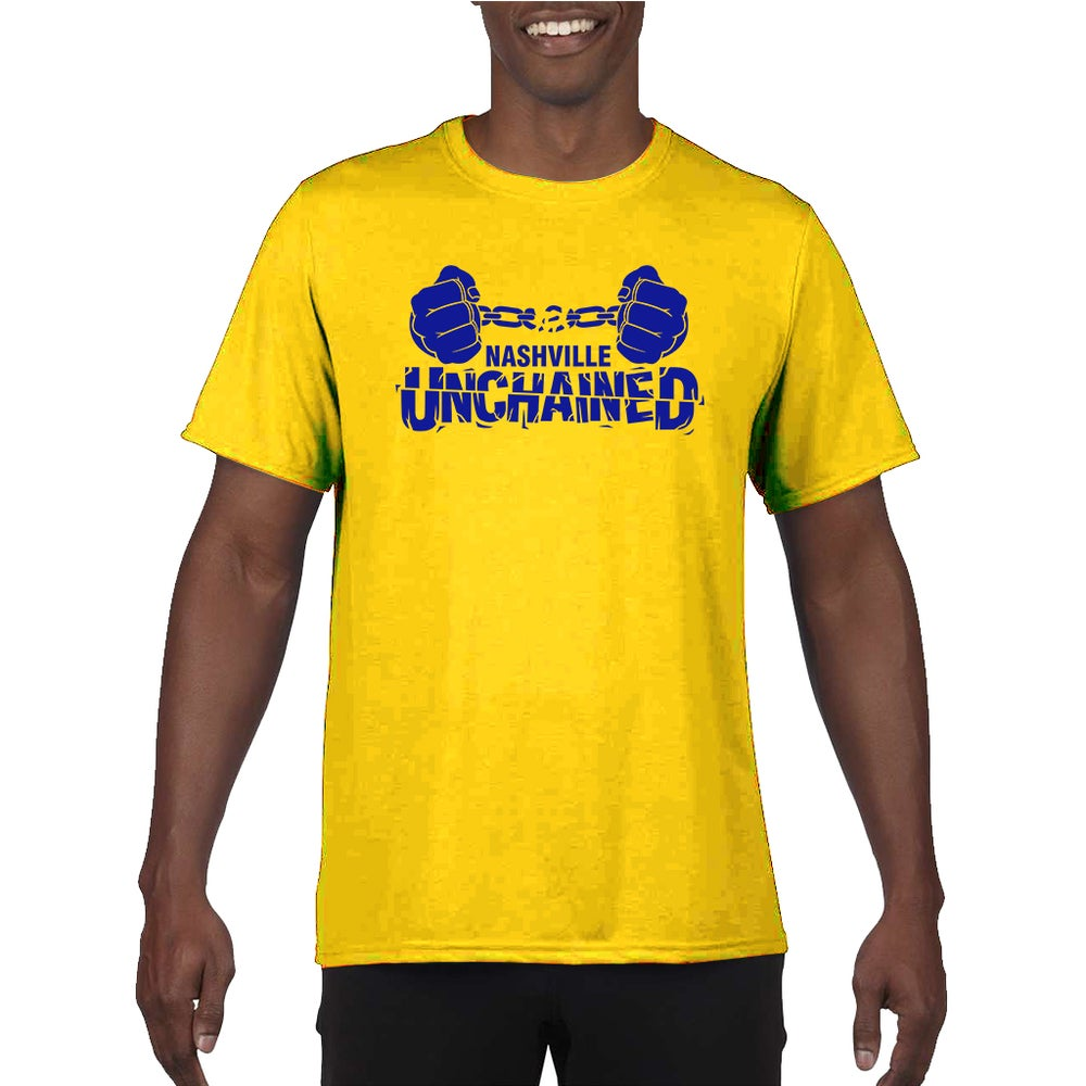 Image of Nashville Unchained Yellow and Blue