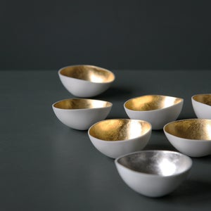Image of Gilded mini-bowls by Justine Allison