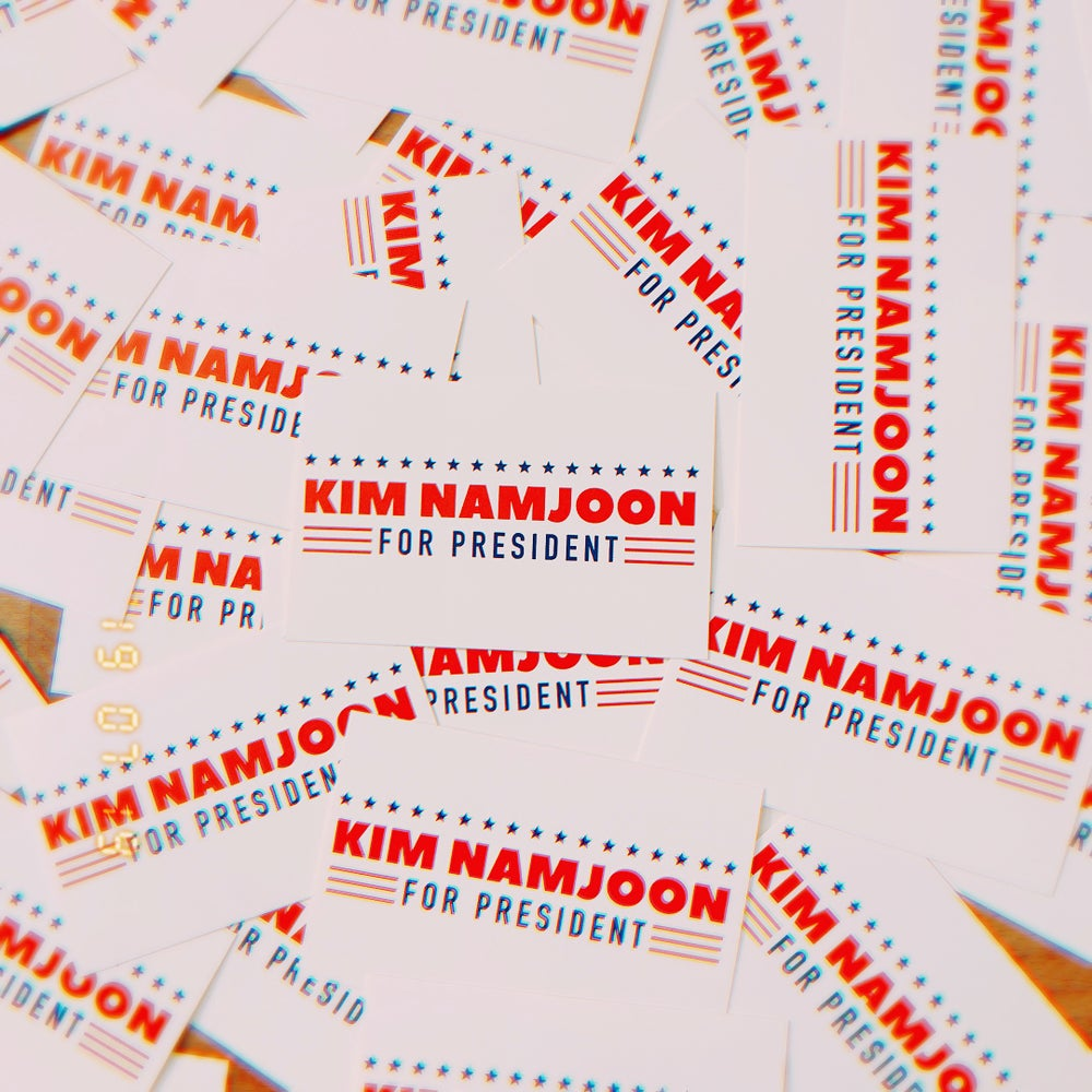 Image of Namjoon for President Sticker