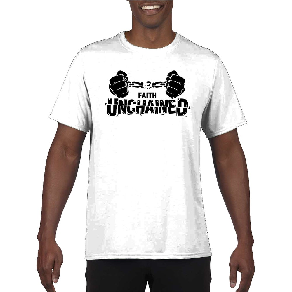 Image of Faith Unchained White and Black