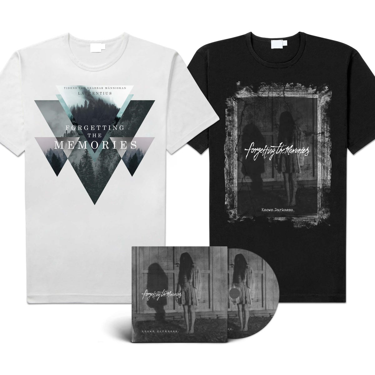 "Image of Forgetting The Memories ""Known Darkness"" EP-Bundle"