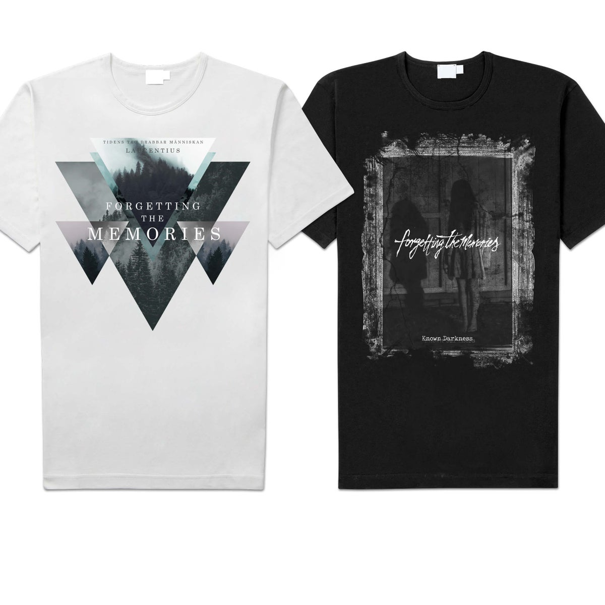 "Image of Forgetting The Memories ""Known Darkness"" / ""Laurentius"" Shirt"