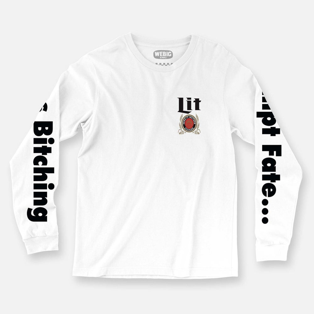 Image of Lit Send It Long Sleeve Tee