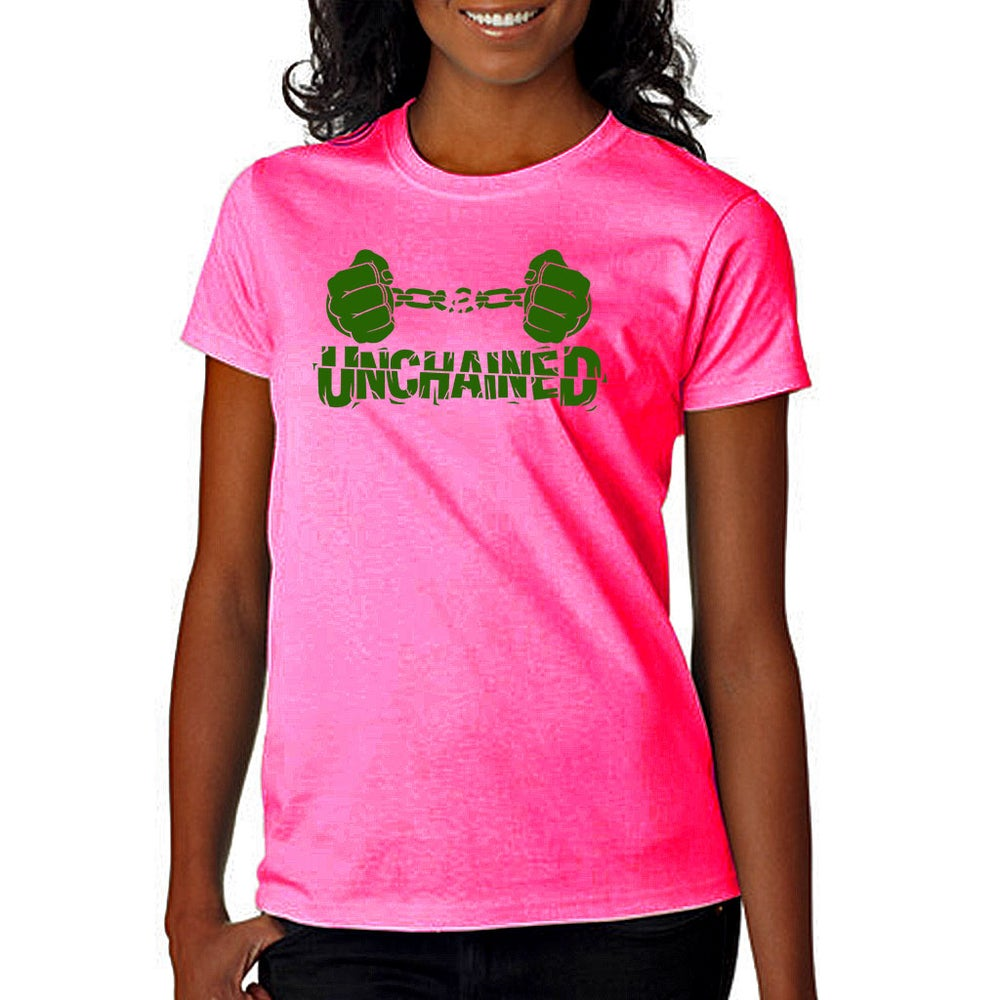 Image of Unchained Pink and Green