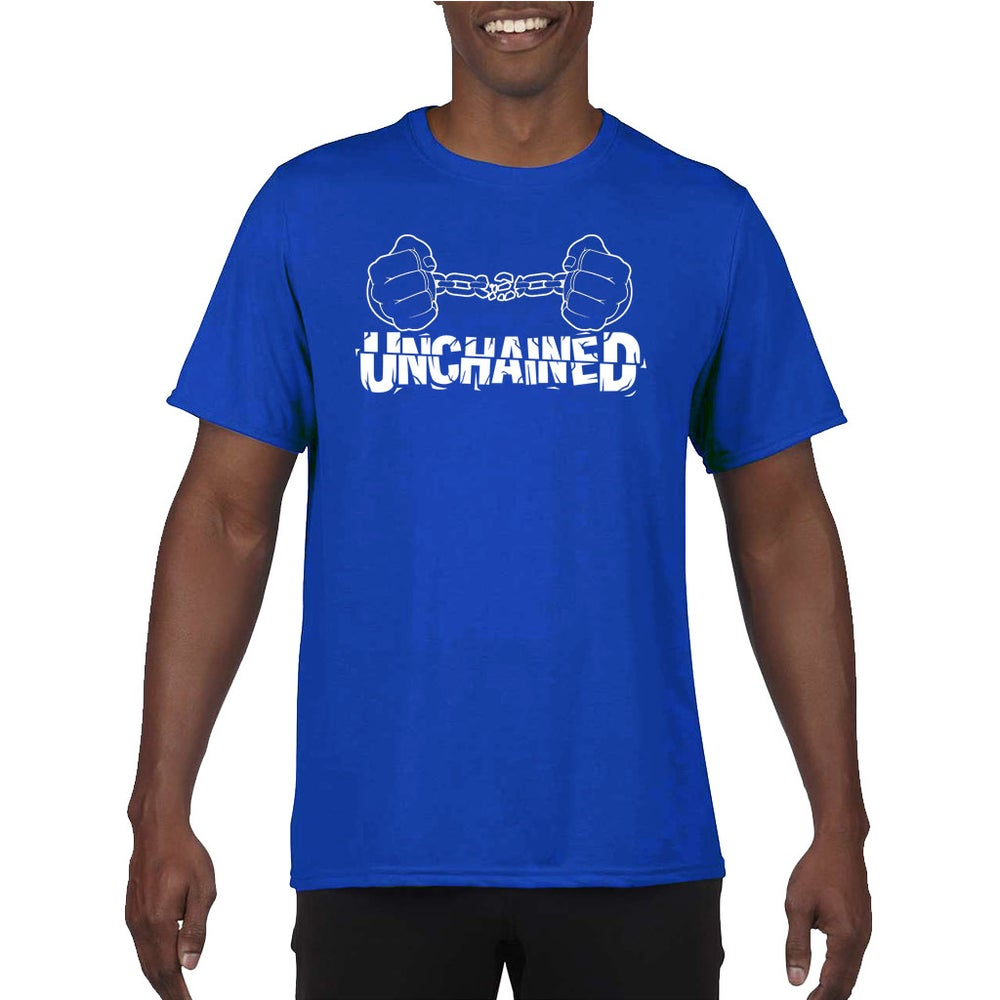 Image of Unchained Blue and White
