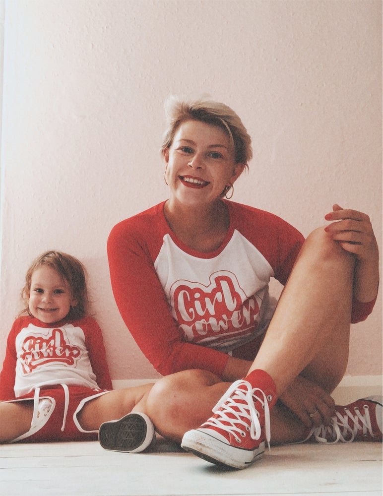 Image of Girl power retro matching sets