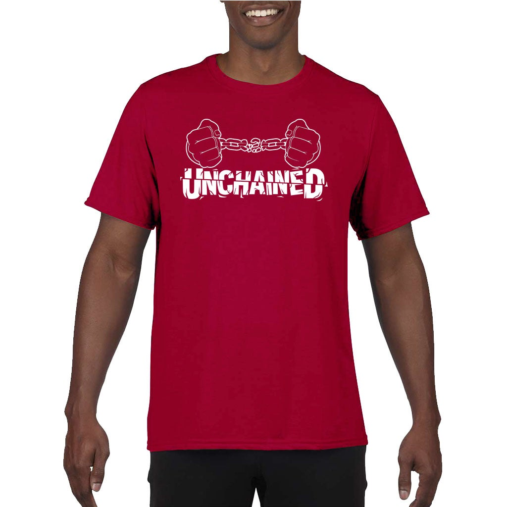 Image of Unchained Red and White Shirt