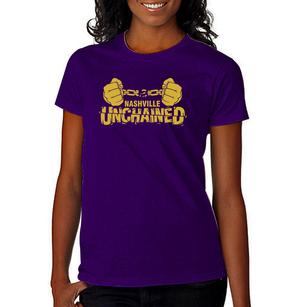 Image of Nashville Unchained Purple and Gold