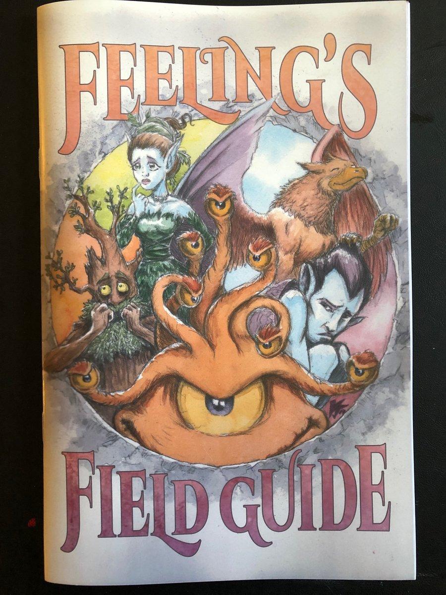 Image of FEELINGS FIELD GUIDE #1