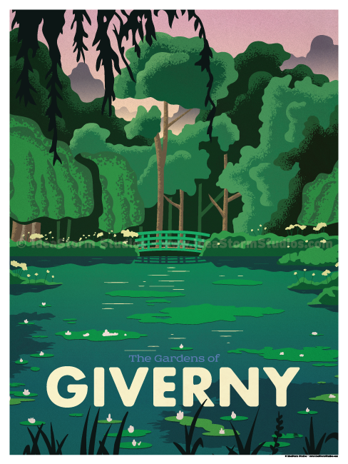 Image of Giverny Poster
