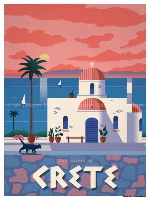 Image of Crete Poster