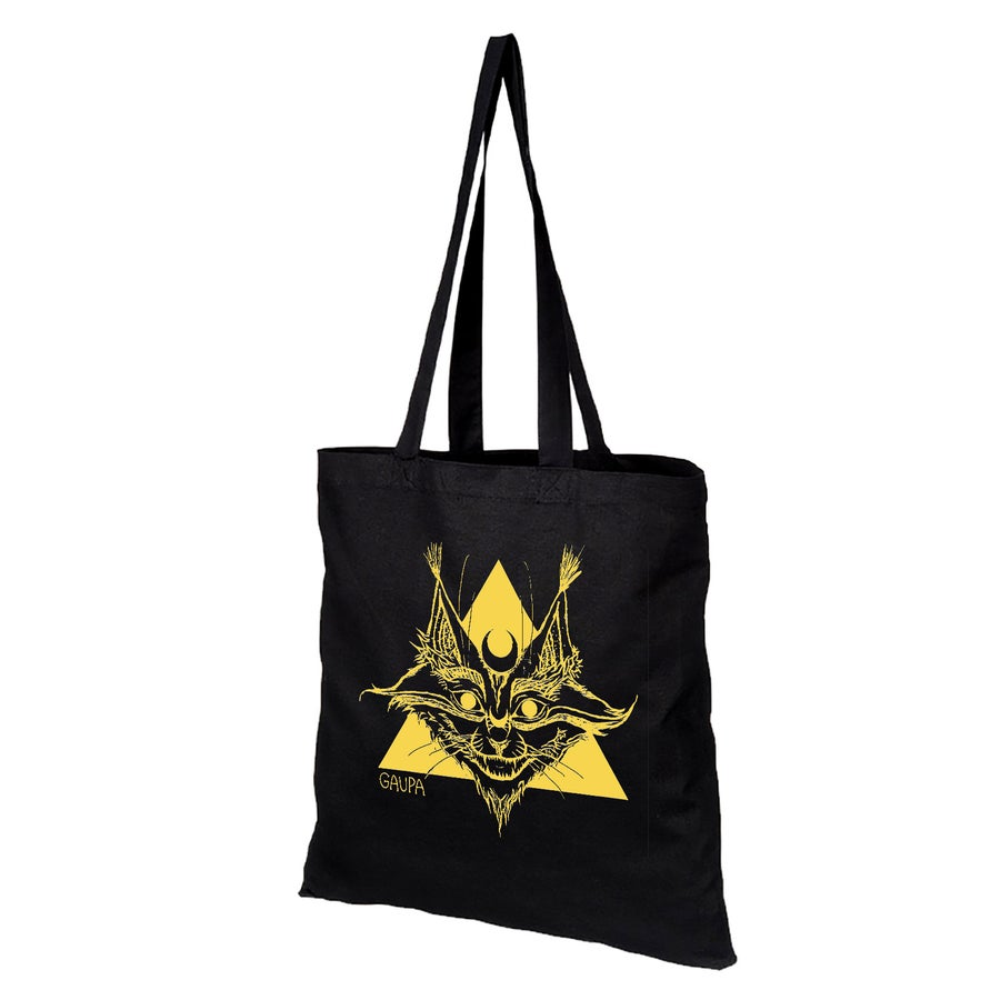 Image of Totebag - Lynx artwork