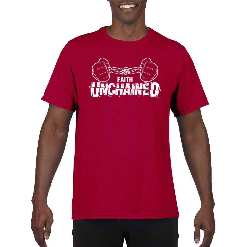 Image of Faith Unchained Red and White