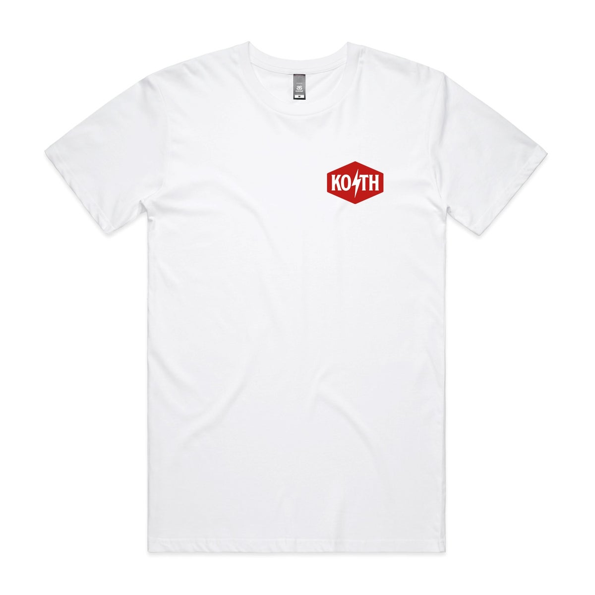 Image of Koth tee - white