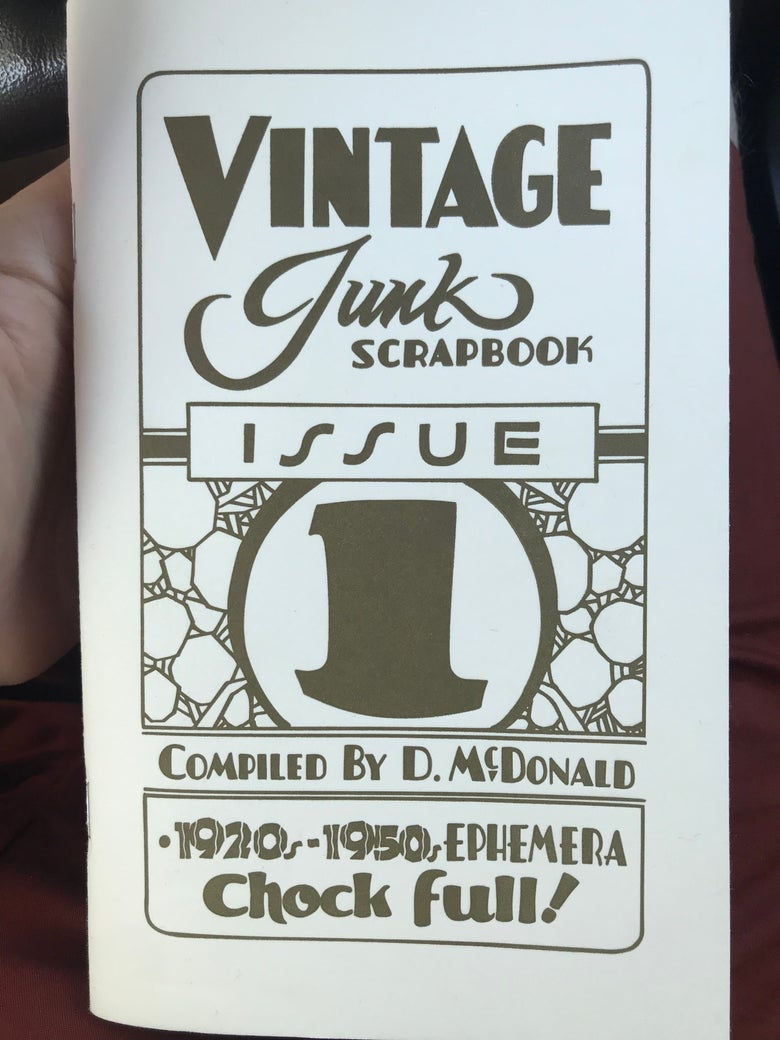 Image of Vintage Junk Scrapbook Issue 1