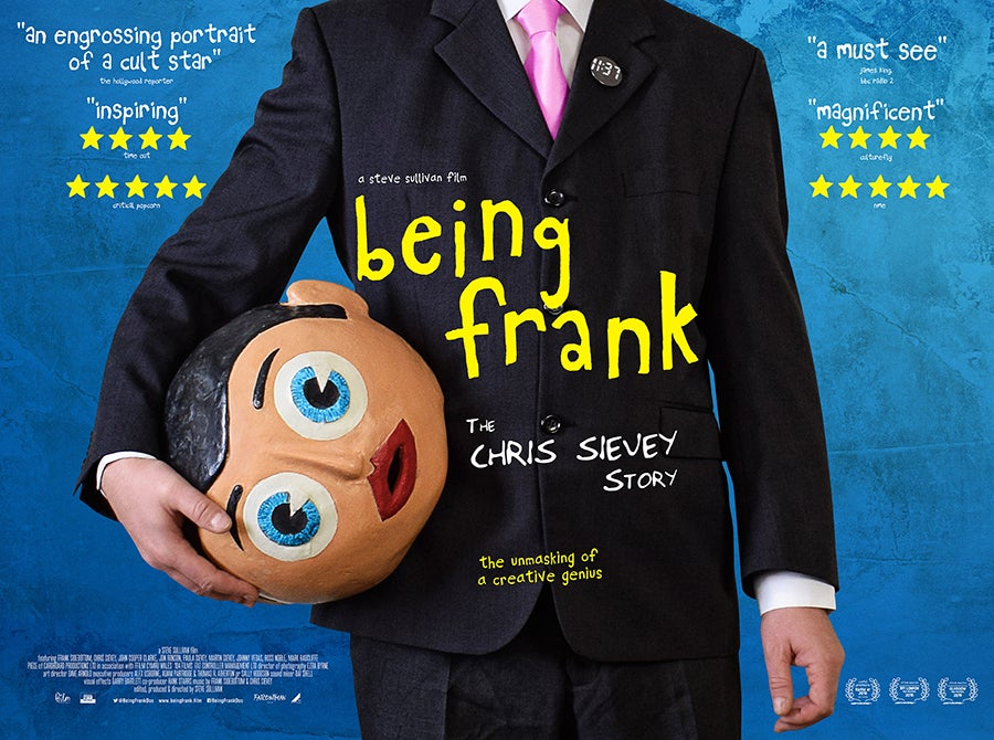 Image of Being Frank Cinema Poster