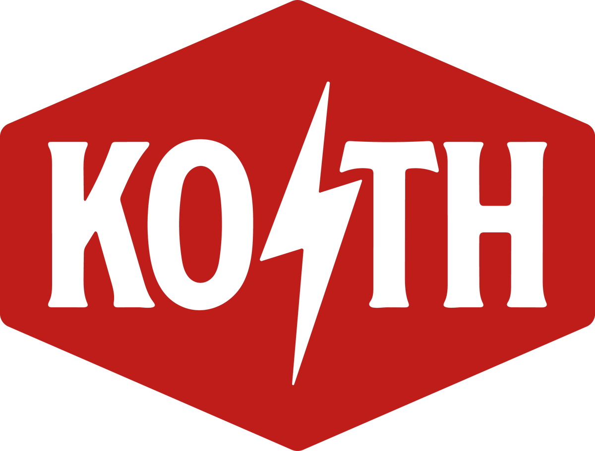 Image of KOTH Sticker - Red