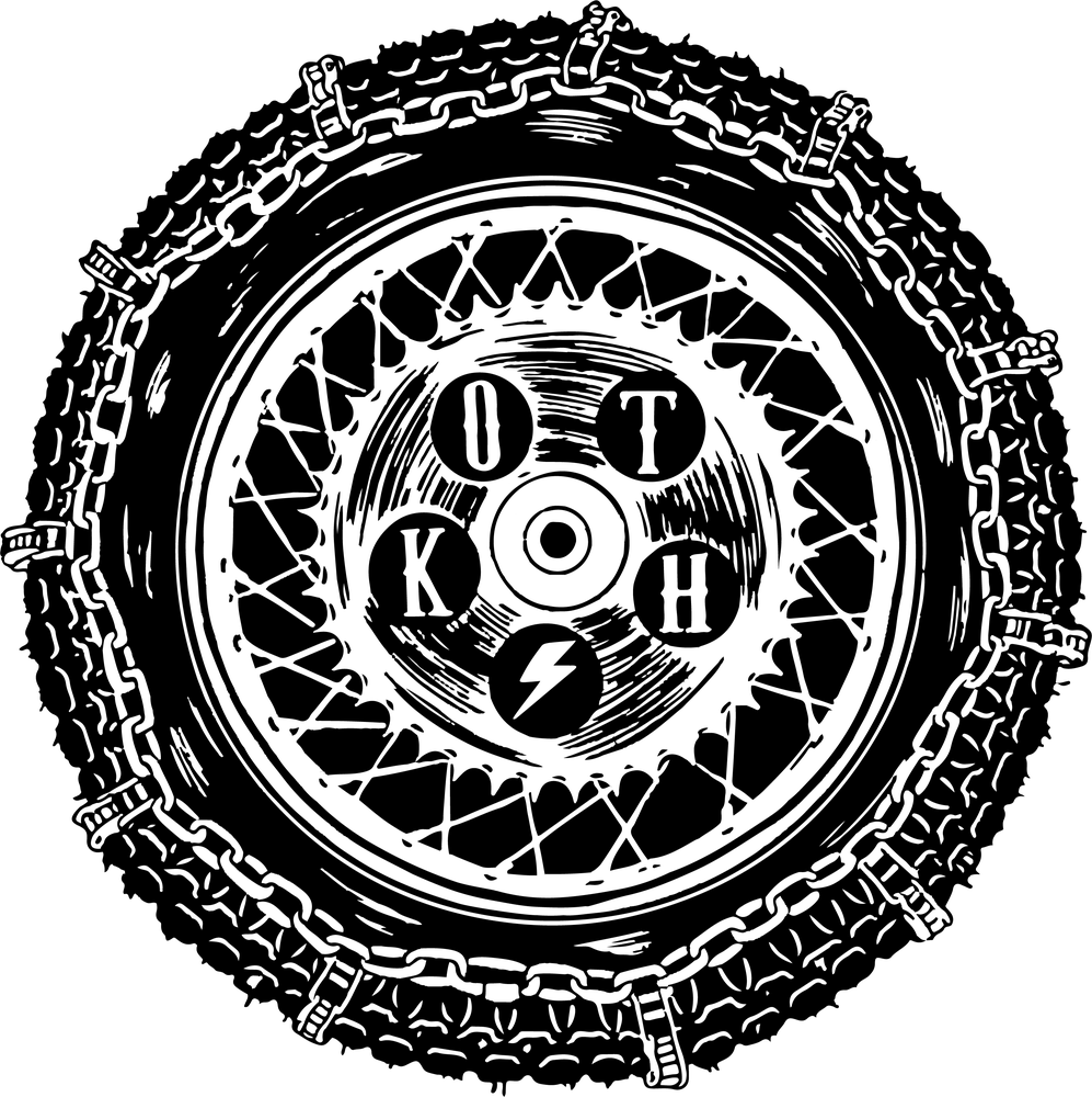 Image of KOTH Sticker - Wheel