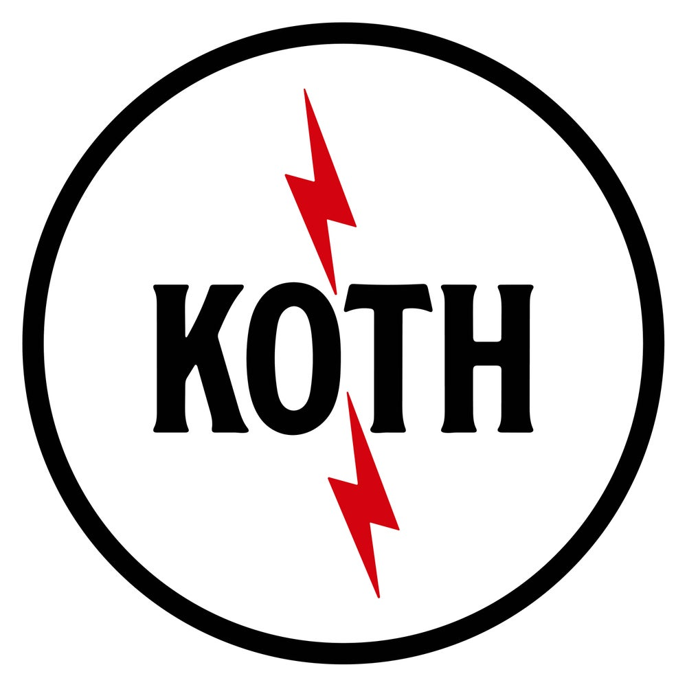 Image of KOTH Sticker - Bolts