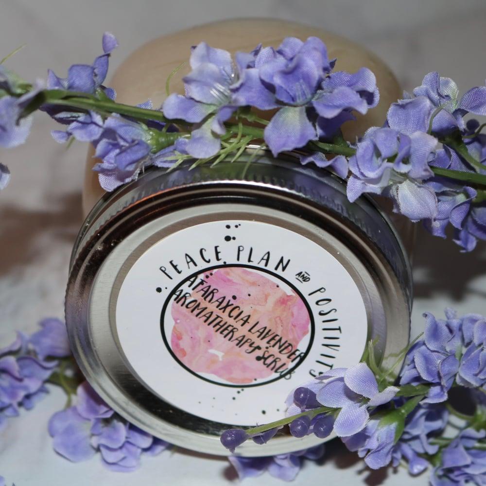 Image of Ataraxcia Lavender Aromatherapy Body Scrub