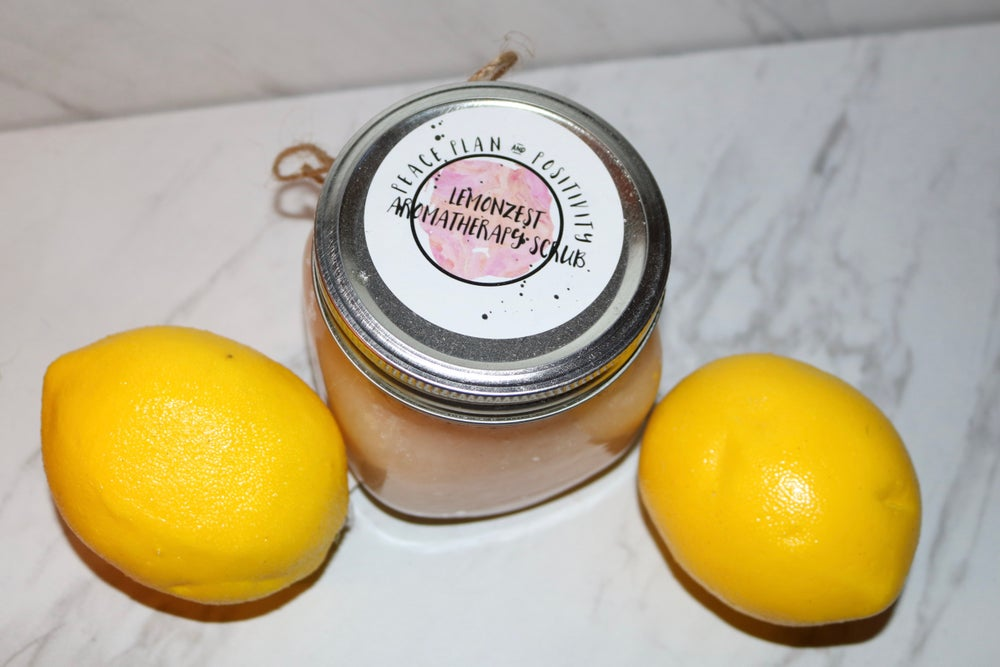 Image of Lemon Zest Aromatherapy Body Scrub